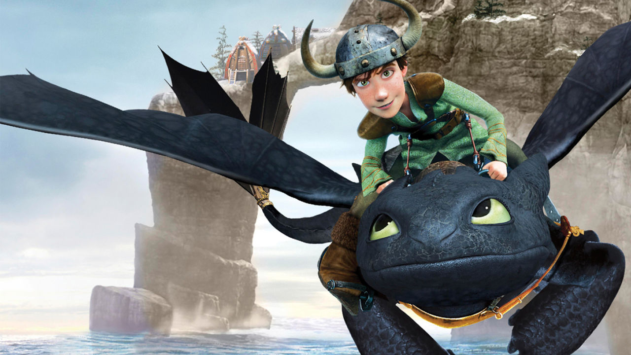 how to train your dragon netflix